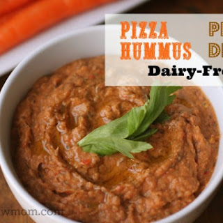 Pizza Dip (Pizza Hummus) – dairy and sesame free