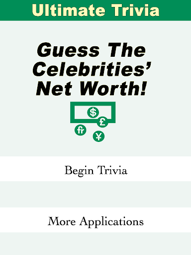Guess The Celeb's Net Worth