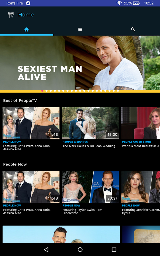 PeopleTV - Watch Celebrity News- screenshot