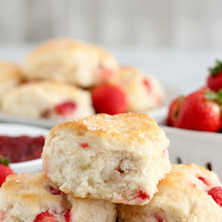 Strawberry Biscuits Recipe
