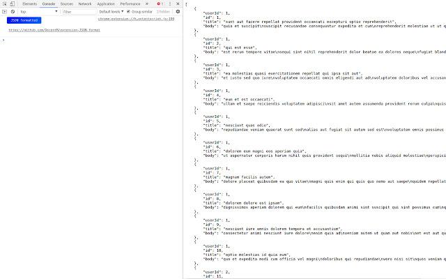 JSON.format