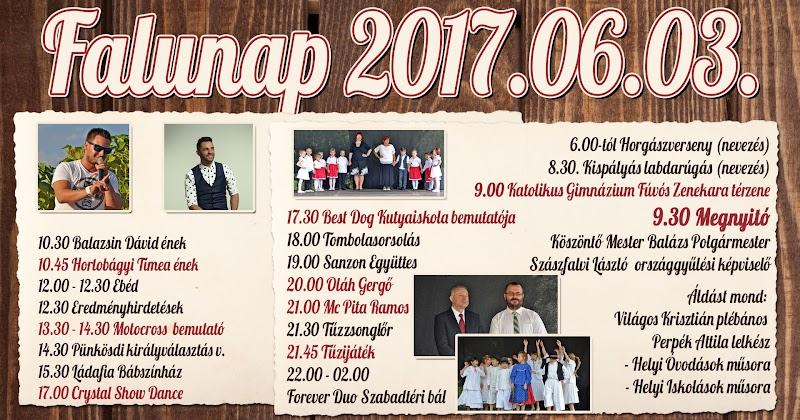 Bárdudvarnok Falunap 2017.06.03. Petörke völgy - Meghívó