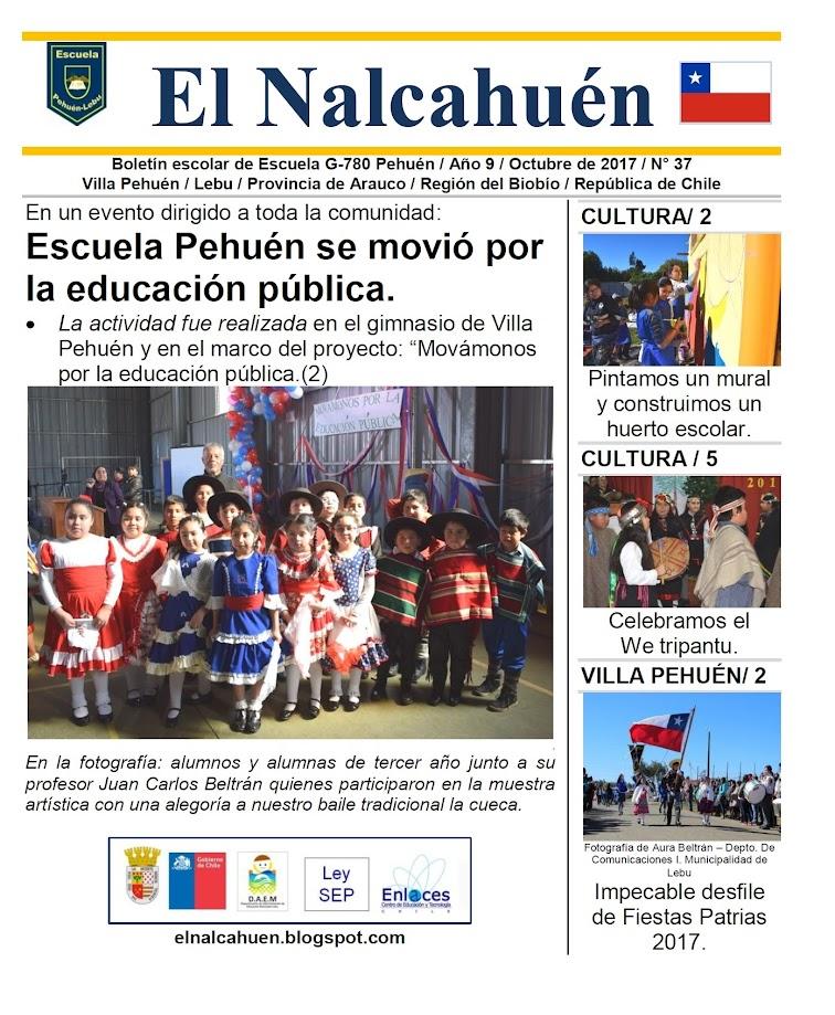 El Nalcahuén IMPRESO N° 37 (Octubre de 2017)