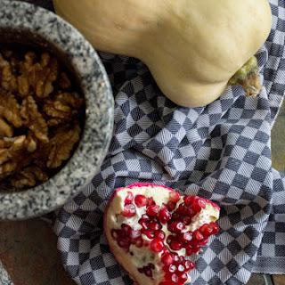 Khoresh-e Fesenjān - Persian Pomegranate Stew with Chicken, Squash & Walnuts