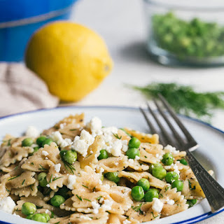 Farfalle Pasta with Peas and Dill