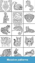 Coloring pages:Animals Mandala - screenshot thumbnail 06