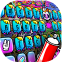 Party Graffiti Keyboard Theme icon