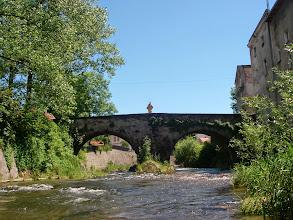 Photo: za mostem św. Jana w Lądku-Zdroju