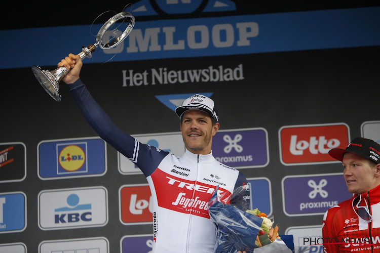Jasper Stuyven verkent woensdag met Trek-Segafredo parcours van Omloop