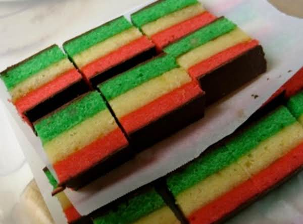 Italian Rainbow Cookies Just A Pinch Recipes