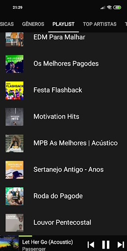 Free Music player - Whatlisten 2.1.7 screenshots 1
