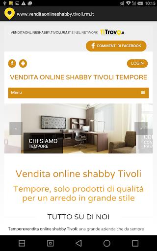 Vendita online shabby Tivoli