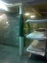 Photo: bunks!  i would hate to be the one closest to the floor.