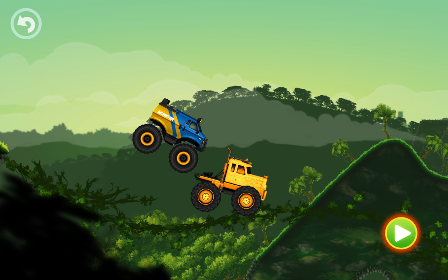 jungle monster truck adventure race android apps on google play