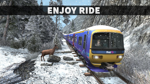 Real Train Driving Simulator: Railway Driver 2019  screenshots 1