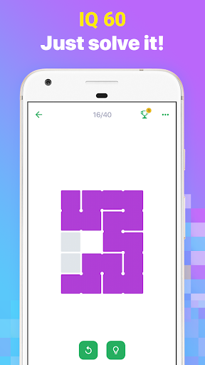 FILL IN  u2013 Connect the Blocks With One Line 1.0.0 screenshots 1
