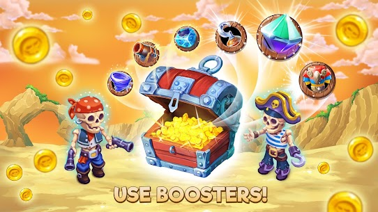 Pirates & Pearls: A Treasure Matching Puzzle MOD (Unlimited Health) 9