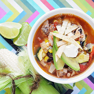 QUICK Pork Enchilda Soup