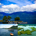 Озера и водопады в Индо icon