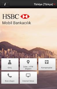 HSBC Mobil Bankacılık Screenshot