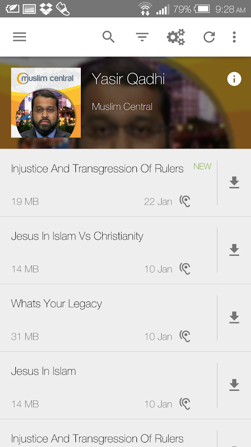 Yasir Qadhi- screenshot