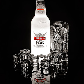 Ice by Roger Armstrong - Food & Drink Alcohol & Drinks ( reflection, ice, tabletop, alcohol, pwccolddrinks )