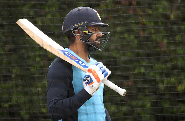 Rohit Sharma of India during an India nets session at the Sydney Cricket Ground on January 6, 2021