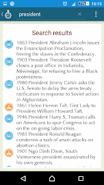 Today in history Screenshot 2