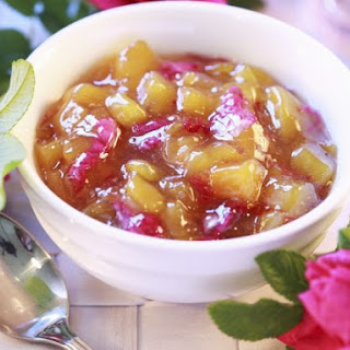 Stone Fruit and Floral Compote