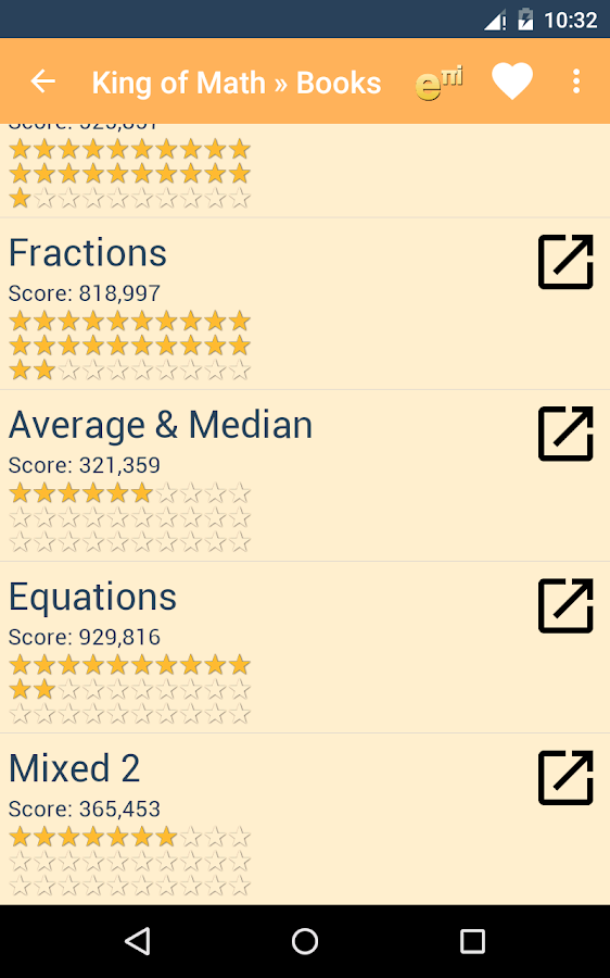 King of Math- screenshot