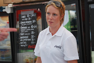 Photo: Nathalie Ohlfeldt, Catering staff. Photo: Patric Fransson