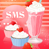 Muffin Shake Theme GO SMS Pro