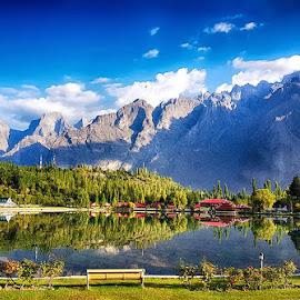 Shangrila by Abdul Rehman - Instagram & Mobile Android ( pakistan, resort, lake, skardu, baltistan,  )