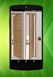 Návrh interiérových dveří - náhled