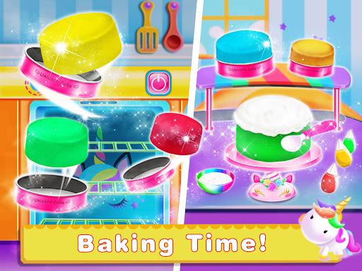 Cooking Unicorn Rainbow Cake- Food Game for girl 1.7 Screenshots 2