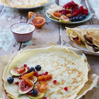 Easy Pancakes Water Recipes