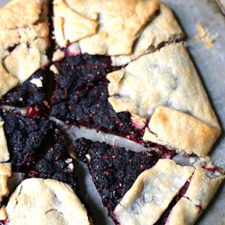 Mulberry Galette Tart