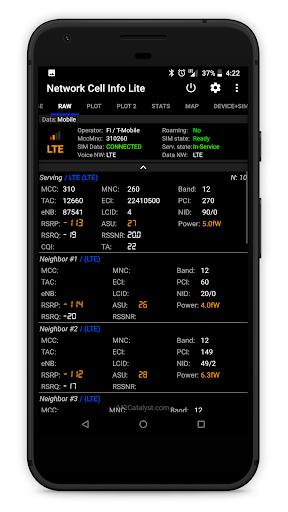Network Cell Info Lite screenshot 4