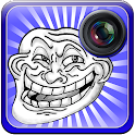 Troll Face Photo Stickers icon