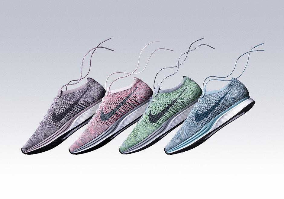 Chưa ra mắt chính thức nhưng Nike Flyknit Racer 2018 toàn màu  ngọt  như bánh Macaron đã khiến dân t