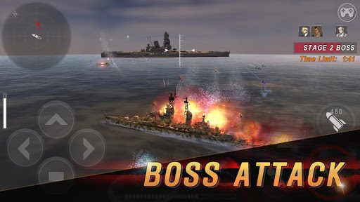 WARSHIP BATTLE:3D World War II apkdebit screenshots 6