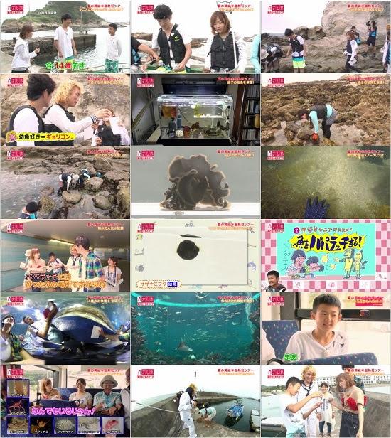 """(TV-Variety)(720p) さし旅「""""海の生きもの""""マニアと巡る熱狂ツアー」 170817"""