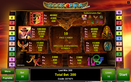 Book of Ra™ Deluxe Slot 2.4 screenshot 363656