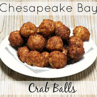 Chesapeake Bay Crab Balls.