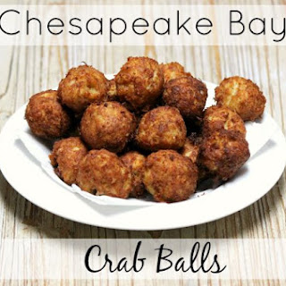 Chesapeake Bay Crab Balls.