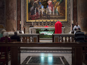 Photo: Morning mass in St. Peters