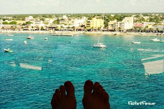 """Photo: If you go shopping in #CostaMaya, use your MasterCard so you don't have to convert from Mexican Pecos.  This photo reminds me of the last line in my favorite movie: """"I hope the ocean is as blue as it has been in my dreams. I hope."""" Shawshank Redemption"""