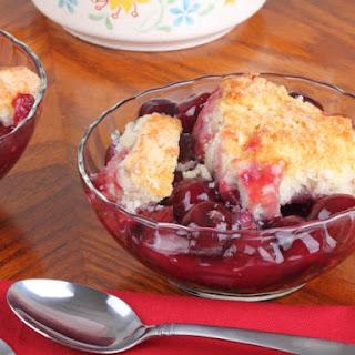 Underwood's Cafeteria Cherry Cobbler