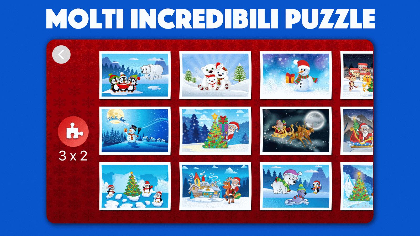 Bambini Natale Puzzle Gioco- screenshot