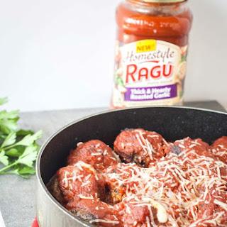 Ragu Meatballs Sauce Recipes